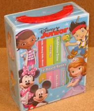 Disney Junior My First Library Box Set of 12 Board Books NEW Ages 10 Months+