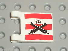 Drapeau flag LEGO PIRATES ref 2335px26 / Set 6242 6241 6253 ...