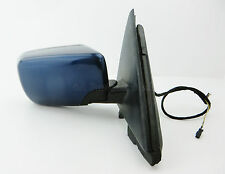 4Q2/ BMW 3-Series E46 Compact 3-Dr Right Side Power Folding Door Mirror Met Blue