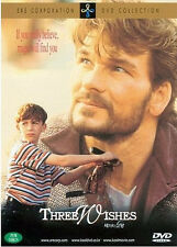 Three Wishes (1995) Martha Coolidge, Patrick Swayze / DVD, NEW