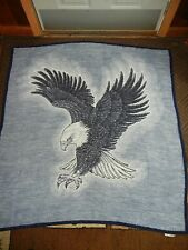 VTG.EAGLE.BIRD OF PREY.BIEDERLACK.REVERSIBLE. BLANKET