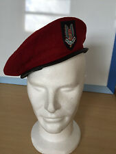 MILITARY BERET CAP WW II WHO DARES WINS BRITISH ARMY