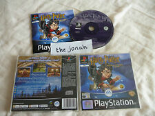 Harry Potter and the Philosopher's Stone PS1 (COMPLETE) PlayStation black label