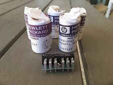 (5) HP 27E133 TE RELAY SOCKET CONNECTOR ASSEMBLY 0490-0860 NEW NOS NIB $29