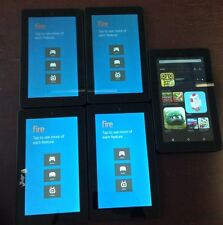 "Lot of 14 Amazon Kindle Fire 7"" SV98LN 8GB, Wi-Fi - Black - Read Description"