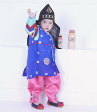 HANBOK Dolbok Vest+Cap+Belt Korean traditional Korea Dress Baby Boy 1st birthday