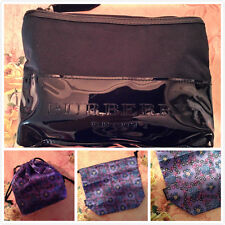Last Set-Burberry Black Cosmetic Makeup Bag & Anna Sui Pouch Limited Gift
