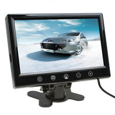 9 Inch TFT LCD Color Screen Car Rear View Monitor With 2 Video Input