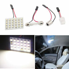 12V Panel 24SMD Car Interior LED White Map Dome Light Lamp Super Universal KY