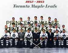 1953 TORONTO MAPLE LEAFS TEAM PHOTO 8X10