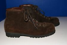 THE ALPS BY FABIANO MOUNTAINEERING SUEDE HIKING WOMENS BOOTS BROWN SIZE 9 M