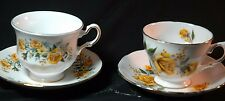 Royal Vale Yellow Roses     Cups and Saucers- 2