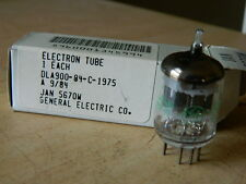 NOS GE USA JAN-5670W [=2C51, 396A] Black Plate Vacuum Tube 5670