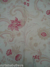 New Single Door Curtain in Laura Ashley BAROQUE Raspberry Red THERMAL
