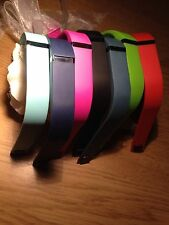 FITBIT FLEX WRISTBAND WITH METAL CLASP,7 COLOURS,LARGE,AU(NEW)