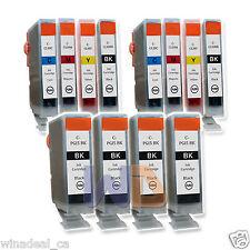 12 PGI-5 CLI-8 Canon 4 PGI-5BK CLI-8 Ink Cartridge for Canon MP500 MP600 MP800 R