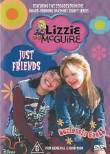 LIZZIE MCGUIRE: JUST FRIENDS - DVD, HILARY DUFF, DISNEY CHANNEL