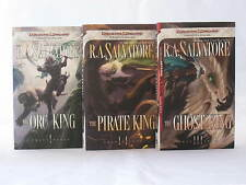 Transitions Trilogy / Legend of Drizzt Books 20-22 in Series by R.A. Salvatore