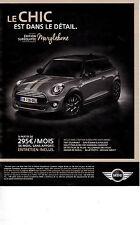 Advertising / Publicité de presse / voiture / MINI ONE EDITION MARYLEBONE . 2007