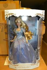 Disney Store Cinderella Live Action Limited Edition Collector Doll LE 1of 4000