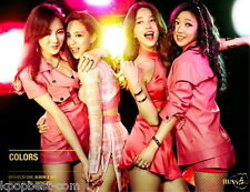 Miss A - Colors (The 7th Project Album) CD Only you + Postcard + gift K-pop
