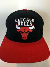 Chicago Bulls NBA Basketball Ball Cap Starter The Natural sz 7 1/4 Wool 1 Flaw