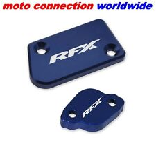 NEW RFX YAMAHA FRONT & REAR BRAKE RESERVOIR CAPS YZ125 YZ250 2008-2016