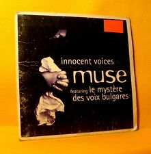 Cardsleeve single CD Muse Ft.Voix Bulgares Innocent Voices 2TR 1996 Hard Trance
