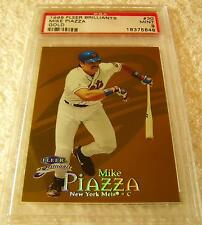 MIKE PIAZZA 1999 FLEER BRILLIANTS GOLD PARALLEL #30 SERIAL #56/99 PSA 9 RARE