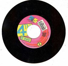 VINTAGE 45 RPM RECORD DINO IN THE CITY NEVER 2 MUCH OF U JUKEBOX PROMO ALBUM