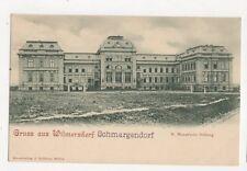 Gruss Aus Wilmersdorf Schmargendorf Vintage U/B Postcard Germany 400a