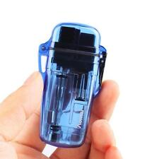 FS Super Bright Waterproof Windproof Refillable Butane Gas Cigarette Lighter HY