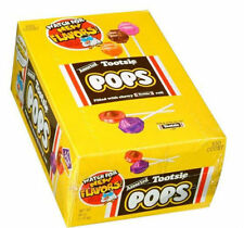 Tootsie Pops Assorted - 100 ct. tootsie roll chocolate middle Candy lollipops