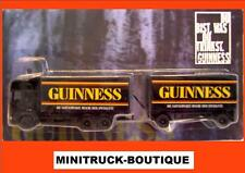 GUINNESS Beer / truck, Scania with trailer, Scale 1:87 / HO