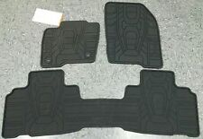 OEM 2015-2017 Ford EDGE ALL WEATHER Floor Mats BLK, 3-PC (FT4Z-5813300-CA)
