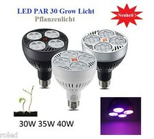 LED Grow Pflanzenlampe 40 Watt 3200K Pflanzenlicht E27 Full Spectrum 40W Light A