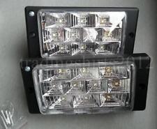 Neu Weiß 12V LED Nebelscheinwerfer Zusatzscheinwerfer Scheinwerfer Universal