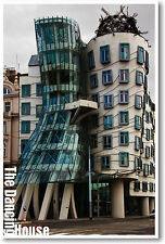 Dancing Building Prague Architecture Travel NEW POSTER