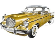 1958 STUDEBAKER GOLDEN HAWK GOLD 1/18 DIECAST MODEL CAR BY ROAD SIGNATURE 20018