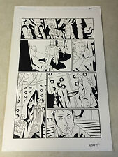 DOCTOR WHO #14 pg #21 original comic art, MATT SMITH, 2011, BRITISH TIME LORD
