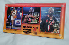 1995 Miami Heat paperweight, NBA All-Star Game, Reeves, Harold Miner, Glen Rice