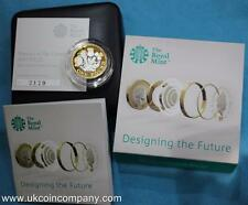 2017 £1 One Pound Silver Proof Piedfort Coin Nations of the Crown Box Coa New