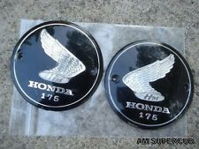 Honda 175 CA175 CD175 CB175 CL175 Gas Tank Emblem // a pair