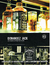 PUBLICITE ADVERTISING 025  2005  JACK DANIEL'S   wiskey n°7