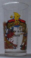 Verre à moutarde long drink POWER RANGERS 1994. Yellow Ranger Trini. VM979