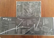 AR15 M16 M4 BATTLE RIFLE & BERETTA 92 M9 DIAGRAM COMPUTER GAMERS XL MOUSE MATS