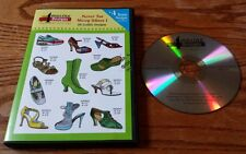 Amazing Designs Embroidery Solutions: Never Too Many Shoes 1 (PC CD-ROM) ADC-18