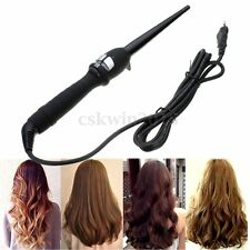 Professional Curling Iron Liquid Crystal 19mm Hair Curler Hairstylist Black Wand