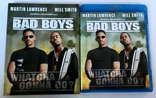 BAD BOYS BLU RAY + RARE OOP SLIPCOVER SLEEVE FREE WORLD WIDE SHIPPING BUY IT NOW