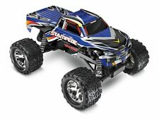 Traxxas - Stampede 1/10 Monster Truck Blue, Rtr W/id Battery & 4 Amp